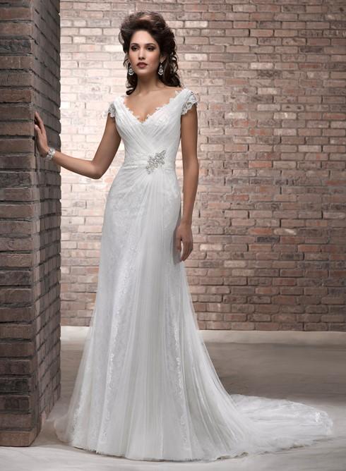 Vestido noiva modelo oval