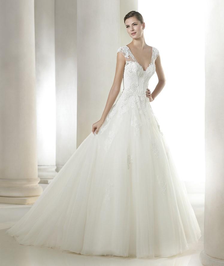 Vestido noiva modelo retangulo
