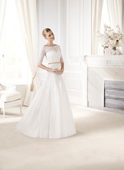 Vestido noiva modelo triangulo