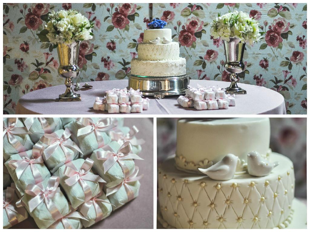 mesa bolo noivado